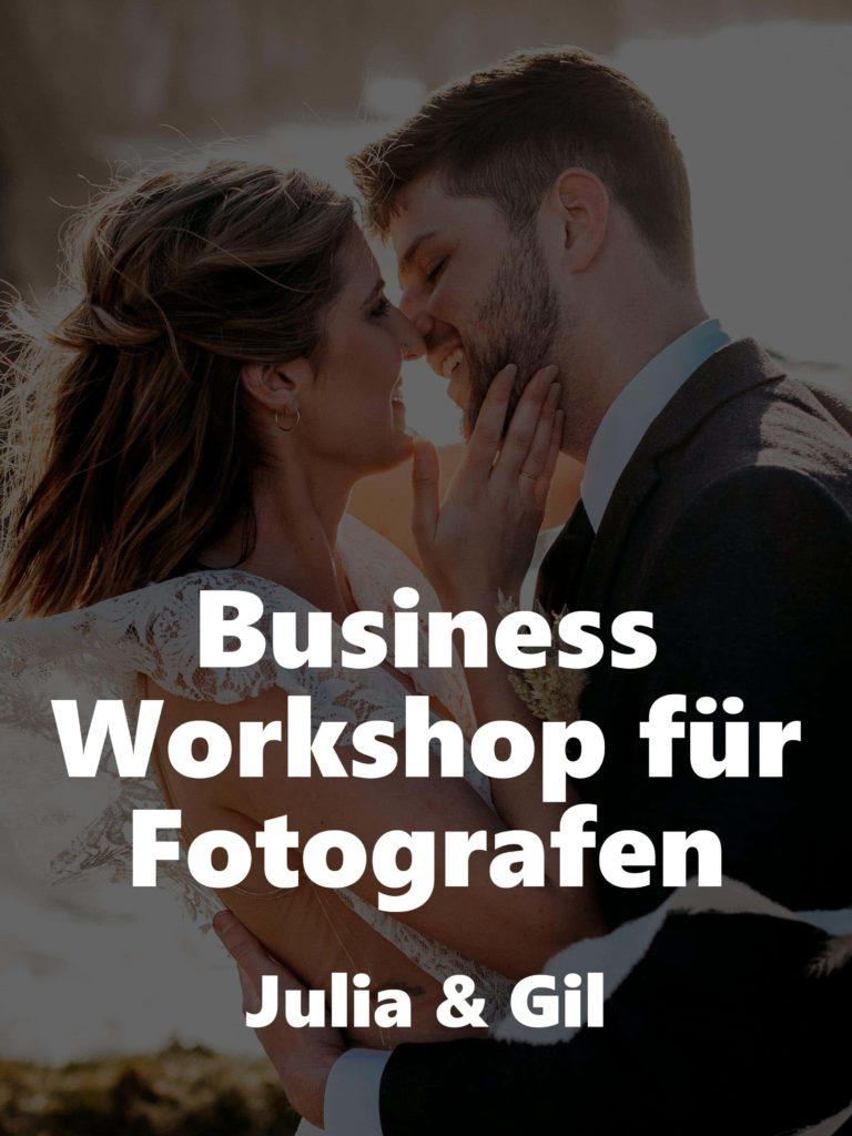 Business Workshop für Fotografen – Julia & Gil
