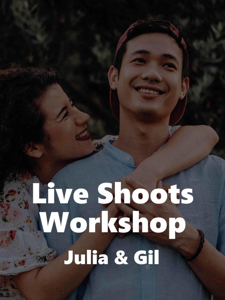 Live Shoots Workshop – Julia und Gil